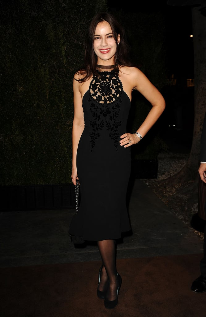 Sophie Winkleman at the Chanel Pre-Oscars Dinner in February 2012