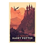 Harry Potter and the Order of the Phoenix Poster ($50)