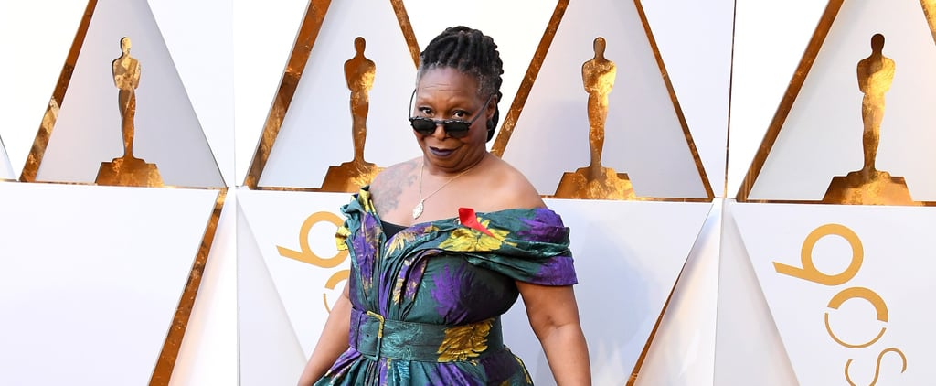 Whoopi Goldberg Oscars Dress 2018