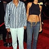 Heidi Klum and Ric Pipino, 2001