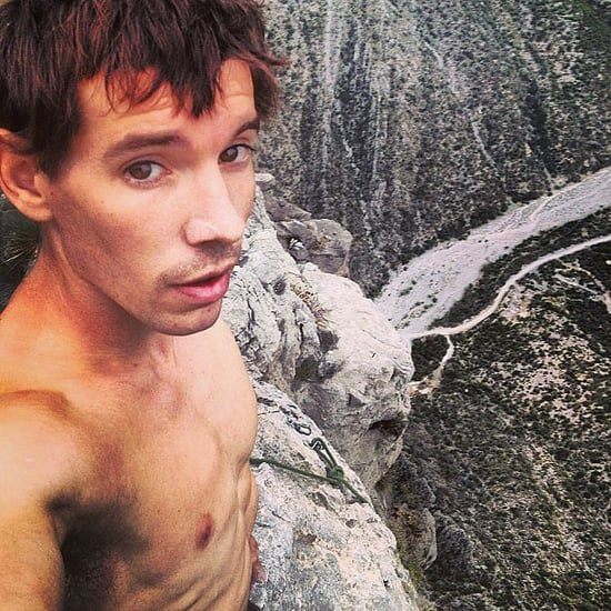 Hot Guys Rock Climbing