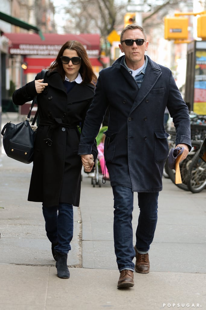 Daniel Craig and Rachel Weisz held hands while getting lunch together in NYC today. The couple grabbed a bite just as news broke that the real-life husband and wife will be playing an onstage couple on Broadway this Fall. Rachel will be making her Broadway debut in Harold Pinter's Betrayal as a woman who is cheating on her husband, played by Daniel. He has already appeared on Broadway in 2009's A Steady Rain, which he costarred in alongside fellow action-star thespian Hugh Jackman.  Rachel and Daniel aren't the only stars who are coming to the Great White Way this Fall. Orlando Bloom has confirmed that he'll costar in a new production of Romeo and Juliet, which will go into previews in August.