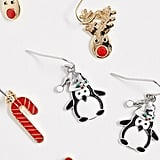 ASOS Design Christmas Earring Pack