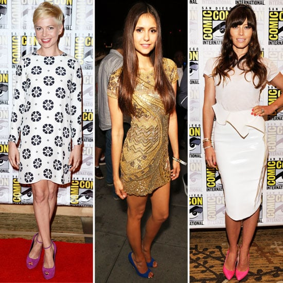 Pictures of Celebrities at 2012 Comic-Con: Kristen Stewart, Jessica Biel, Michelle Williams & More!