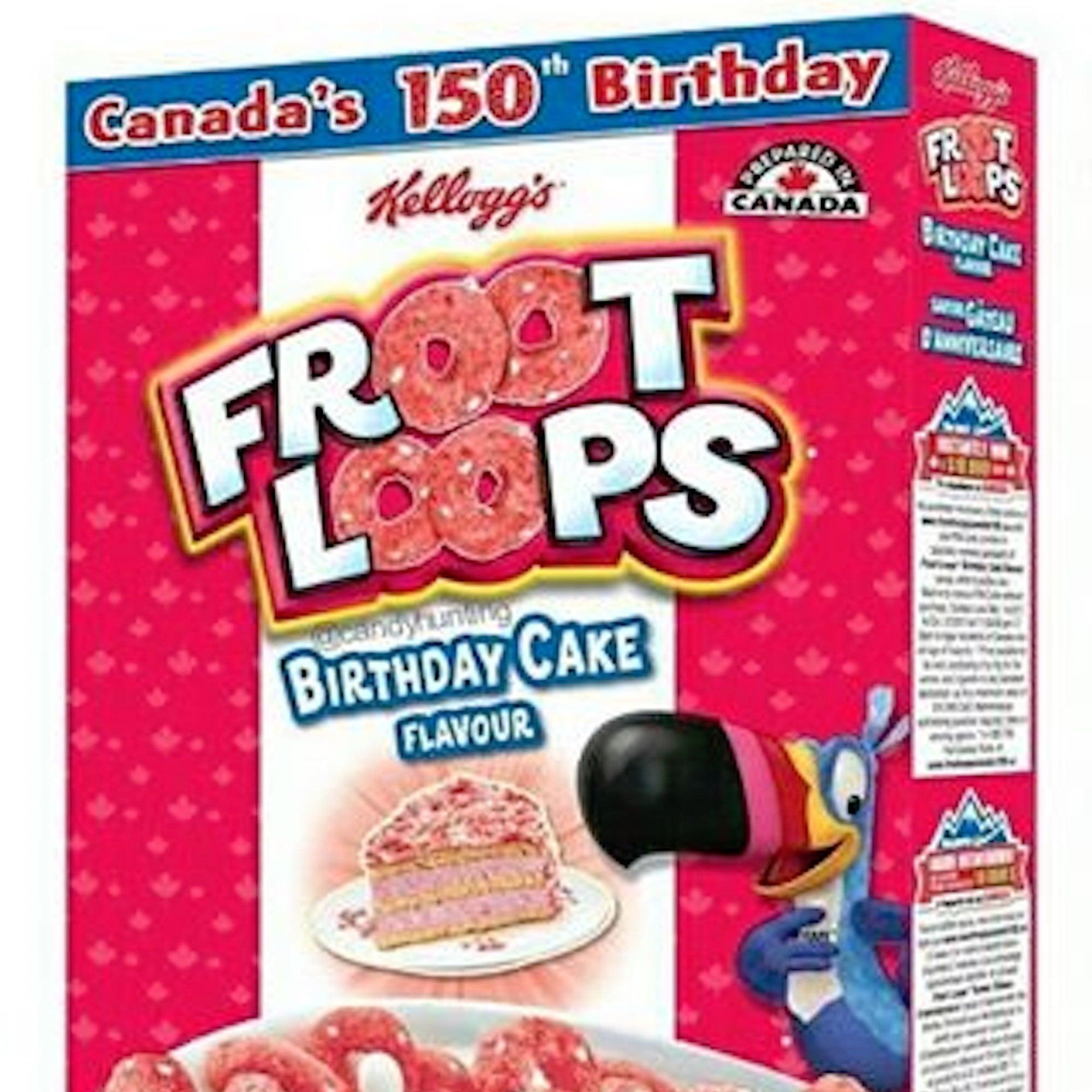 Birthday Cake Flavored Froot Loops Popsugar Food
