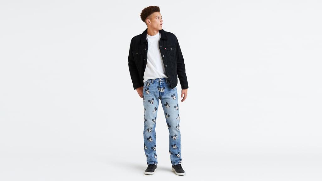 Levi's X Disney Mickey Mouse 501 Original Fit Men's Jeans