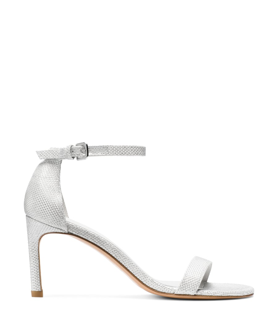Nunakedstraight Sandal in Argento Silver ($398)