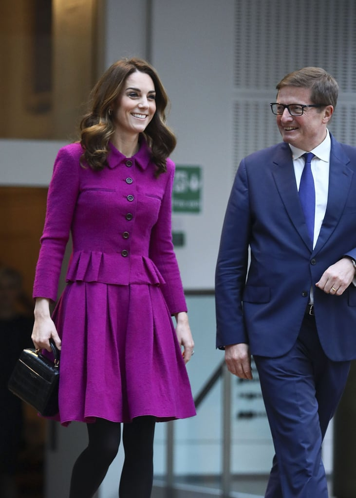 Kate Middleton Visits Royal Opera House January 2019