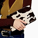Perla Cow Zip Pouch