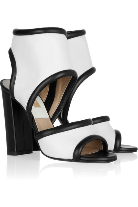 Your Spring sporty look wouldn't be complete without these surf-inspired sandals.  Michael Kors Leather Cuff Sandals ($945)