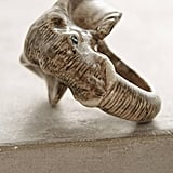 Anthropologie Elephant Portrait Ring ($58)