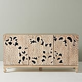 Get the Look: Handcarved Lotus Sideboard