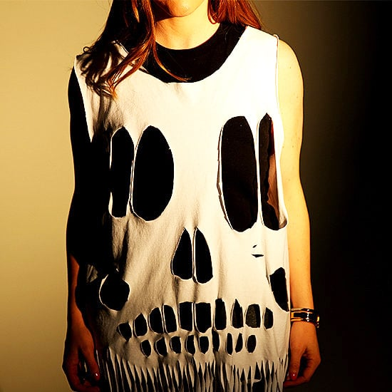 DIY Skull Tee Halloween Costume | Video
