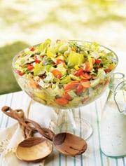Fast & Easy Dinner: Chop Chop Salad