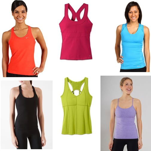 Workout Tops With Built In Bras Popsugar Fitness
