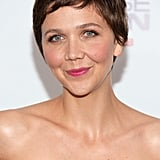 "Maggie Gyllenhaal attended the premiere of White House Down earlier this week, and makeup artist Molly R. Stern created her fresh look. ""I wanted her skin to be flushed and healthy with a pop of a lip and a whole lot of lashes,"" she said."