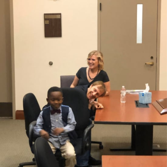 Boy Invites His Kindergarten Class to His Adoption Hearing