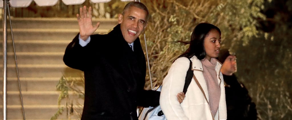 The Obama Family Kicks Off the Holidays by Jetting Off to Hawaii