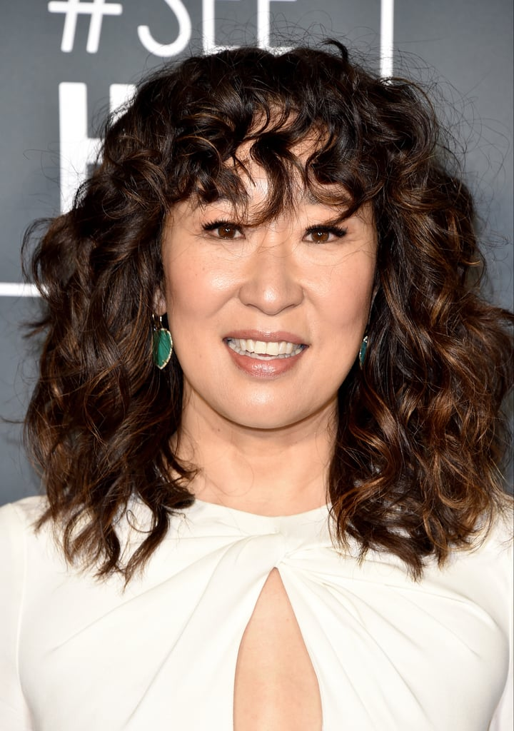 Sandra Oh Hair at the Critics Choice 2019