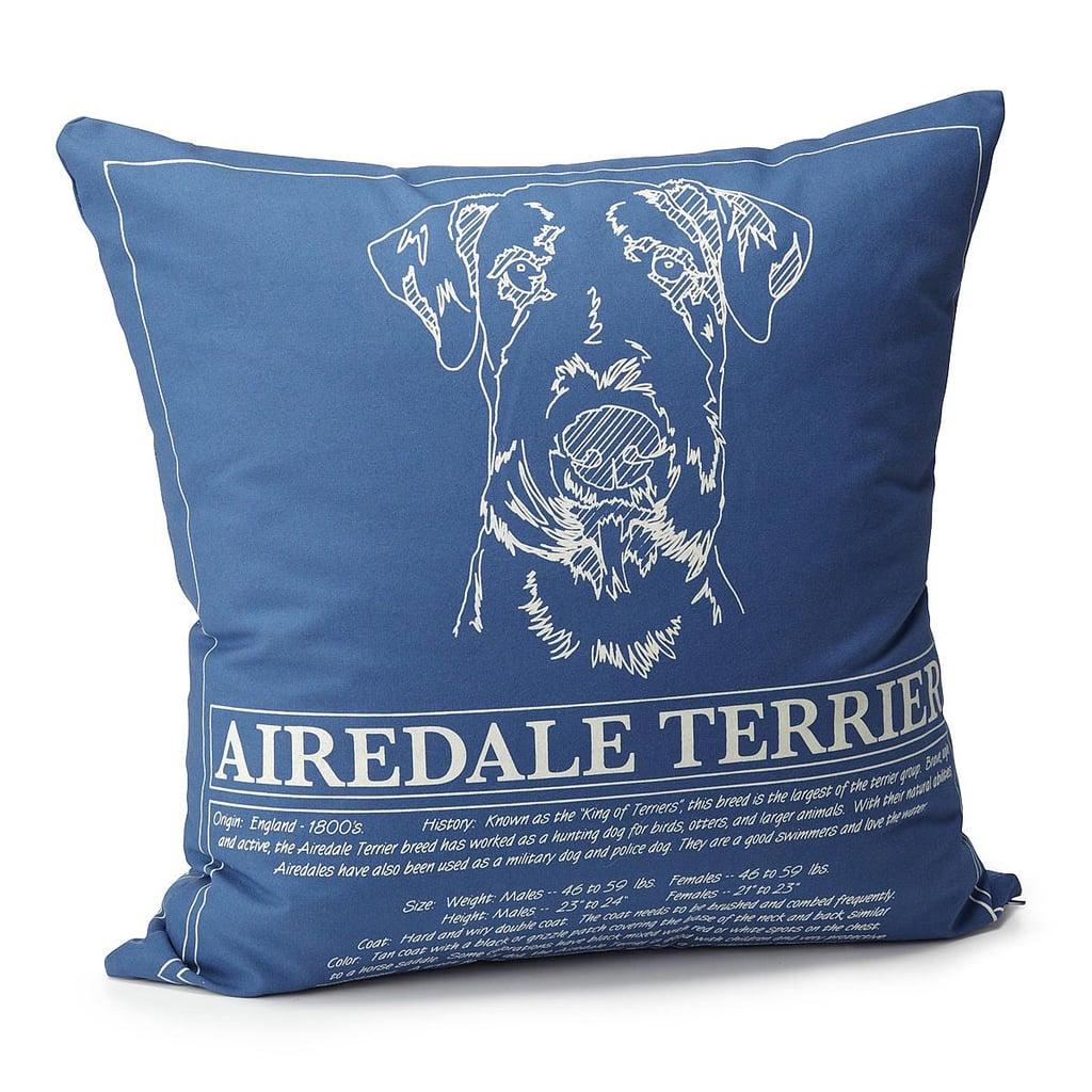 Dog Blueprint Pillows