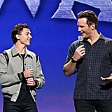 When Tom Holland and Chris Pratt Had Heart Eyes For Each Other at D23