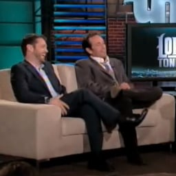 Jason Priestley and Luke Perry on Lopez Tonight Video