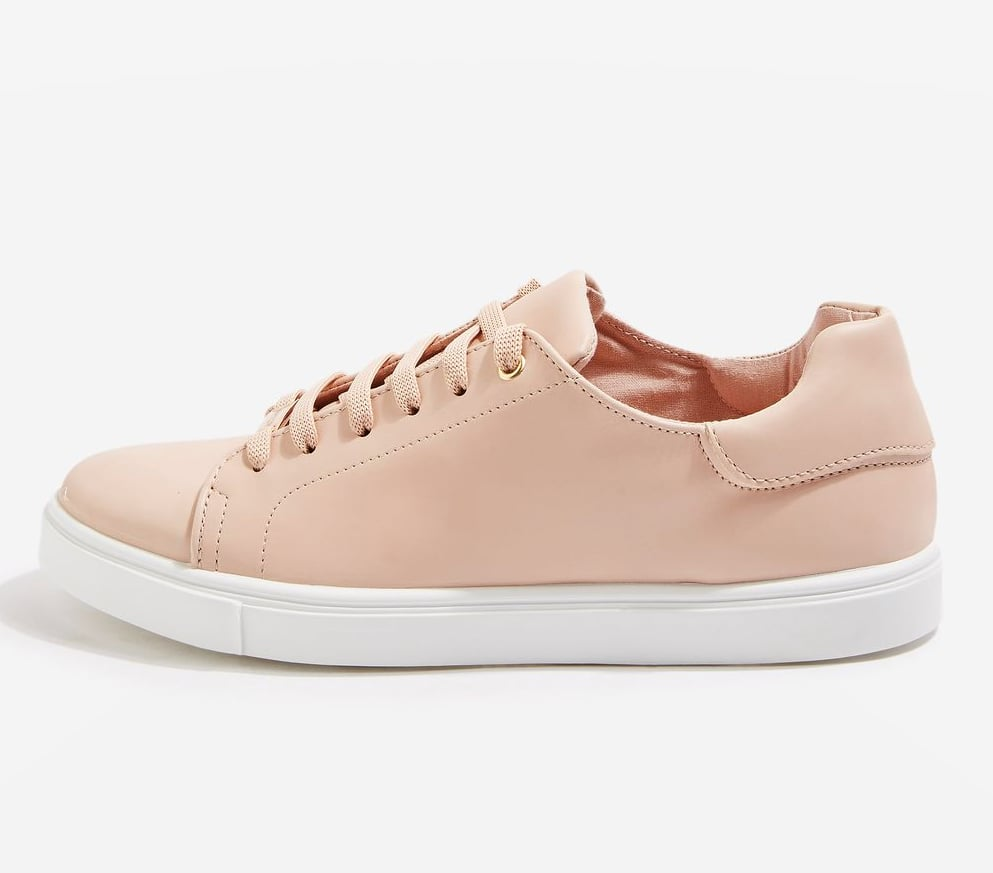 Topshop Cluster Lace-Up Trainers