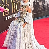 Lady Gaga Looked Like a Queen at the A Star Is Born UK Premiere