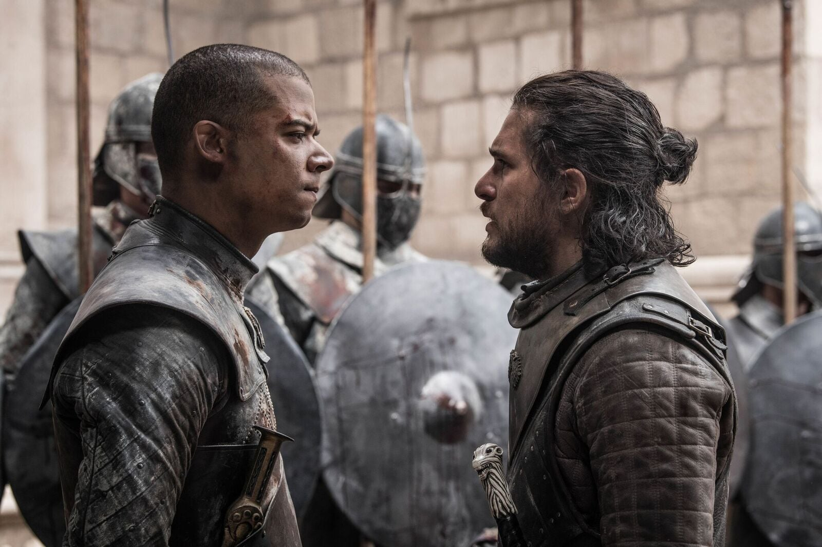 Jon-Snow-Grey-Worm