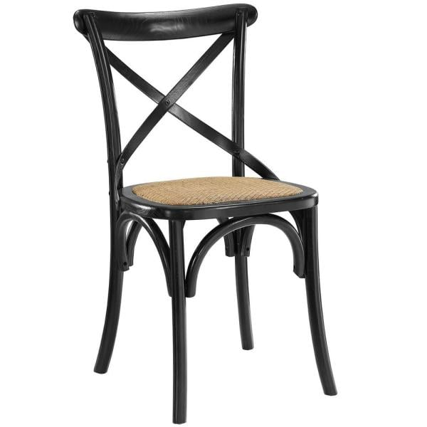 MODWAY Gear Black Dining Side Chair