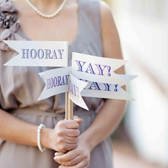 Wedding Decor Ideas With Flags