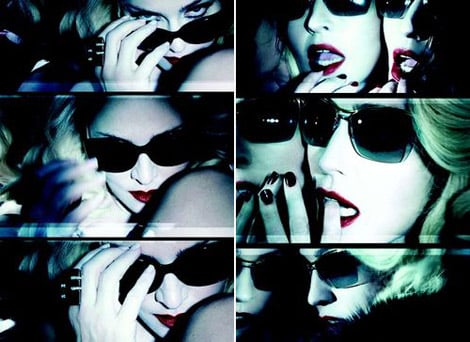 Madonna and Dolce & Gabbana new sunglasses designs Ads