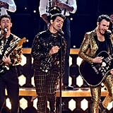 The Jonas Brothers Performing at the Grammys