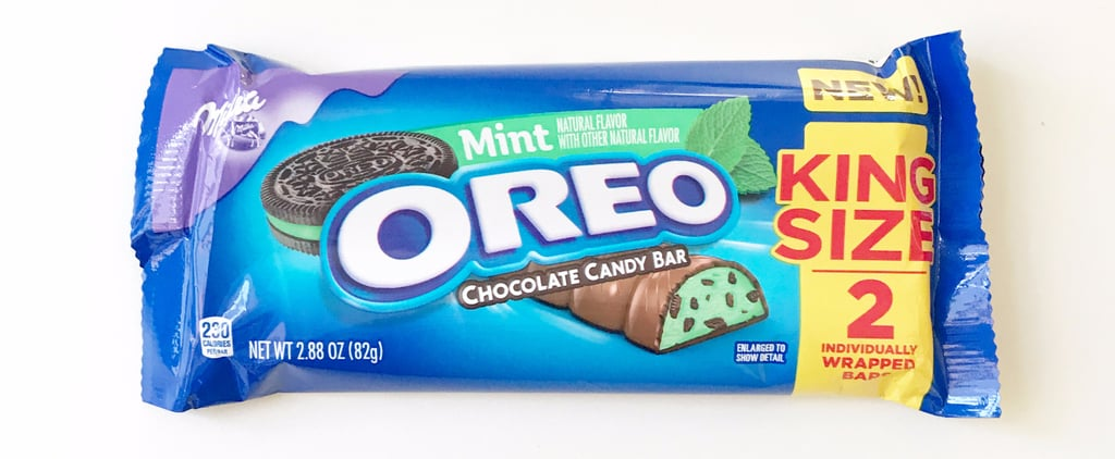 Oreo's New Chocolate Bar Tastes Like Mint Chocolate Chip Ice Cream!