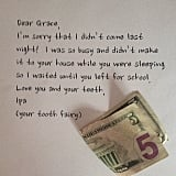 If the tooth fairy misses a visit