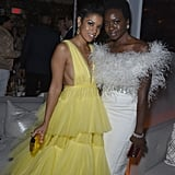 Danai Gurira and Susan Kelechi Watson at the 2019 SAGs Afterparty