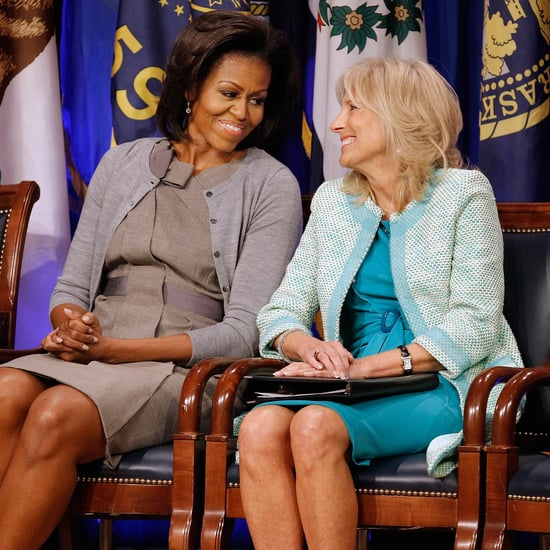 Michelle Obama and Jill Biden Friendship in Pictures