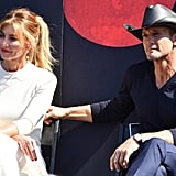 Faith Hill and Tim McGraw Nashville Walk of Fame Pictures