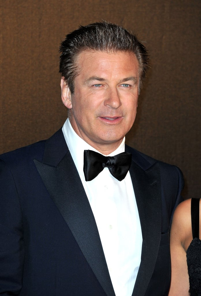 Alec Baldwin donned a tuxedo for the opening night dinner of the Cannes Film Festival.