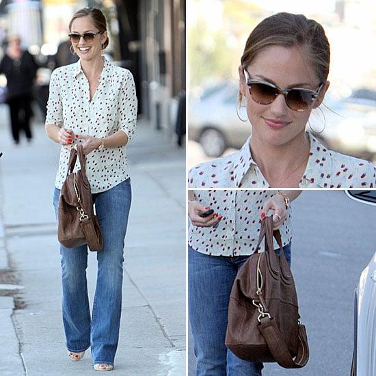 Minka Kelly Style Givenchy Bag