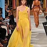 The Oscar de la Renta Dress on the Spring 2020 Runway