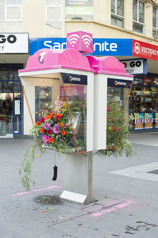 Canberra's CBD Was Flower-Bombed and the Result Couldn't Be Prettier