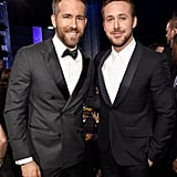 Ryan Gosling Ryan Reynolds at  Critics' Choice Awards 2017