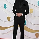 Asa Butterfield at the 2020 BAFTAs in London