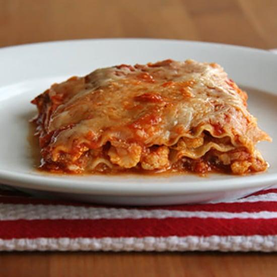 Healthy Gluten-Free Vegetarian Cauliflower Lasagne Recipe