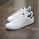 I've been on the hunt for the perfect pair of Summer sneakers for a while now, but after writing about the launch of Adidas's new Stan Smiths, I was sold. The honeycomb leather is a fresh spin on white sneakers I've never seen before, so I'm snapping up a pair as soon as they are available on June 1. — AM
