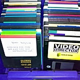 You'd Save Your Typed Assignments to These Floppy Disks