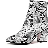 Wetkiss Snake Ankle Boots