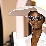 Beyoncé's White Balmain Gown at the 2019 NAACP Image Awards