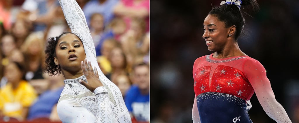 Simone Biles's and Jordan Chiles's Gymnastics Ab Workout